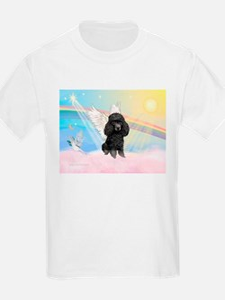 Angel /Poodle (blk Toy/Min) T-Shirt
