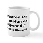 Churchill Martyrdom Quote Mug