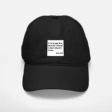 Churchill Necessary Success Quote Baseball Hat