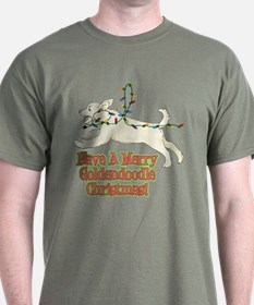 Christmas Goldendoodle T-Shirt