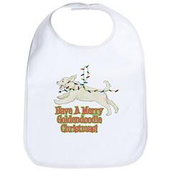 Christmas Goldendoodle Bib
