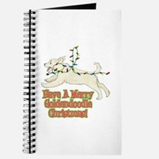 Christmas Goldendoodle Journal