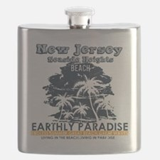 Cute Seaside heights Flask