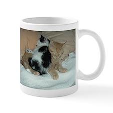 Orange Tabby Kittens & Friends Mug