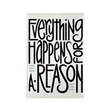 Everything Happens Rectangle Magnet (10 pack)