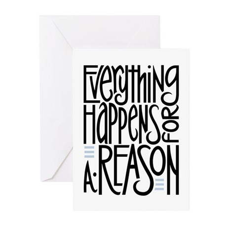 Everything Happens Greeting Cards (Pk of 10)