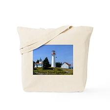 Moshers Island Lighthouse Tote Bag