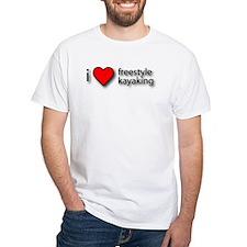 I Love Freestyle Kayaking Shirt
