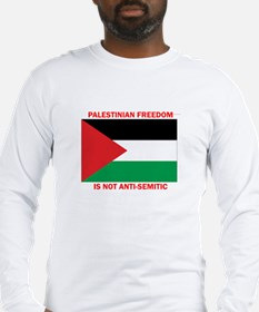 palestine free Long Sleeve T-Shirt