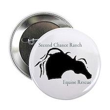 """Unique Second chance ranch 2.25"""" Button (10 pack)"""