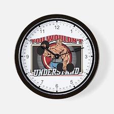 Understand Weightlifting Wall Clock