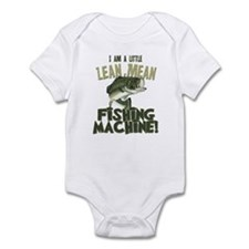 Lean Mean Fishing Machine Infant Bodysuit