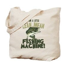 Lean Mean Fishing Machine Tote Bag