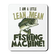Lean Mean Fishing Machine Mousepad