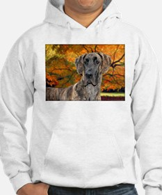 Brindle Beauty Great Dane (uncropped) Hoodie Sweatshirt