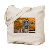 Great dane Canvas Totes