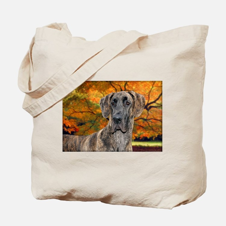 Brindle Beauty Great Dane (uncropped) Tote Bag