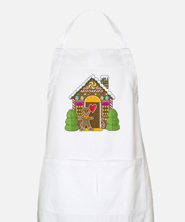 Gingerbread House BBQ Apron