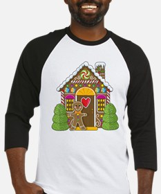 Gingerbread House Baseball Jersey