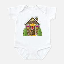 Gingerbread House Infant Bodysuit