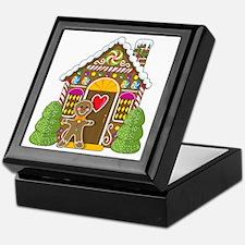 Gingerbread House Keepsake Box