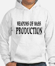 Weapons of mass production breastfeeding Hoodie