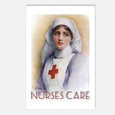 Nurses Care Postcards (Package of 8)