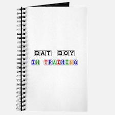 Bat Boy In Training Journal