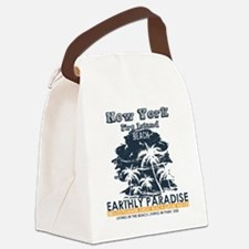 Funny Fire island Canvas Lunch Bag