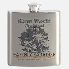 Funny Fire island Flask
