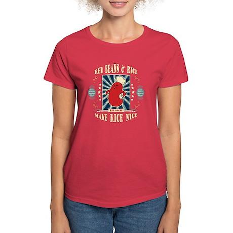Glorious Red Beans Women's Dark T-Shirt