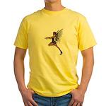 Gothic Faery Yellow T-Shirt