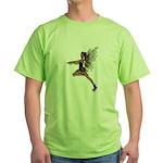 Gothic Faery Green T-Shirt