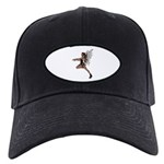 Gothic Faery Black Cap