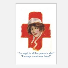 French Nurse Angel Postcards (Package of 8)