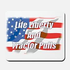 American Tractor Pulls Mousepad