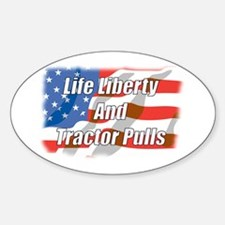 American Tractor Pulls Oval Decal