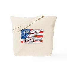 American Tractor Pulls Tote Bag