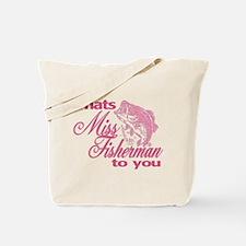 Miss Fisherman Tote Bag
