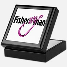 FisherWoman Keepsake Box