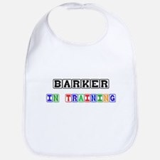Barker In Training Bib