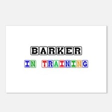 Barker In Training Postcards (Package of 8)