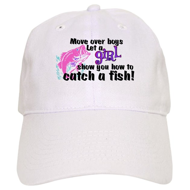 Move over boys fish cap by thefishingbowl for White cap fish