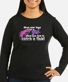 Move Over Boys - Fish T-Shirt