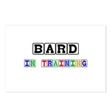 Bard In Training Postcards (Package of 8)