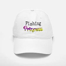 Fishing Princess Baseball Baseball Cap