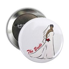 "African American Bride 2.25"" Button"