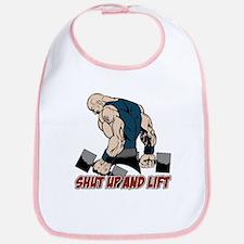 Shut Up and Lift Weightlifter Bib