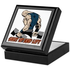 Shut Up Weightlifter Keepsake Box
