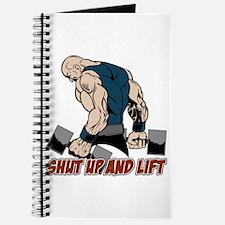 Shut Up and Lift Weightlifter Journal